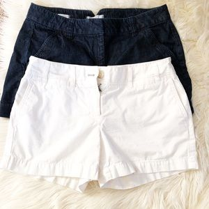 2 pair of LOFT shorts